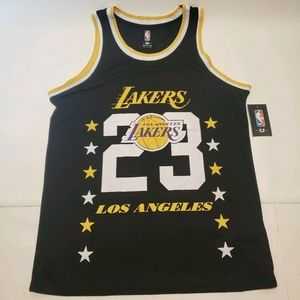 NBA Store LA Lakers LeBron James Practice Jersey